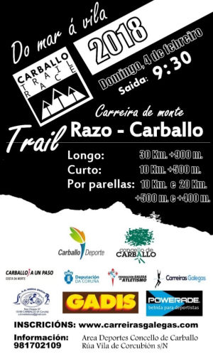 Carballo Trail Race 2018